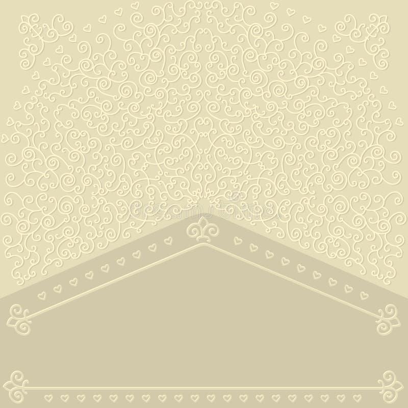 Carta delicata. royalty illustrazione gratis
