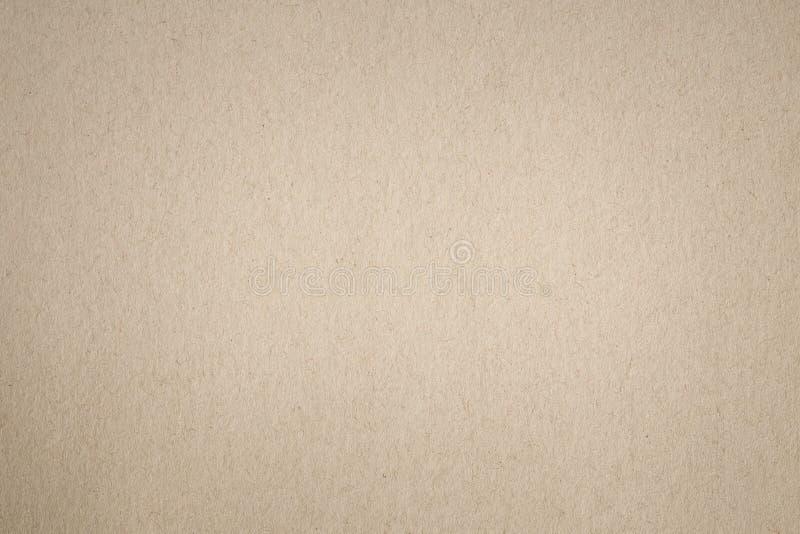 Carta di Brown per i precedenti, struttura astratta di carta per il DES fotografia stock
