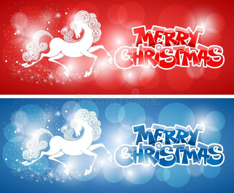 Carta di Buon Natale illustrazione di stock
