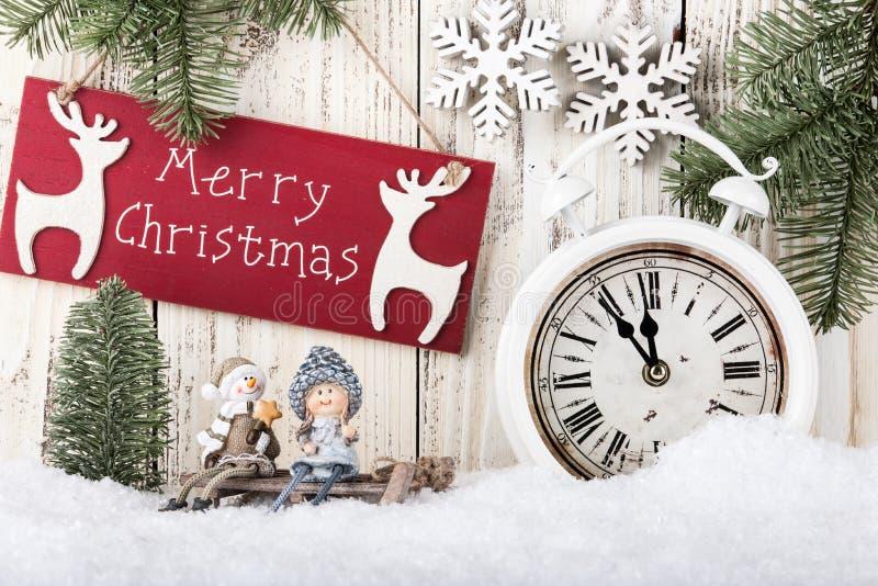 Carta di Buon Natale immagine stock libera da diritti
