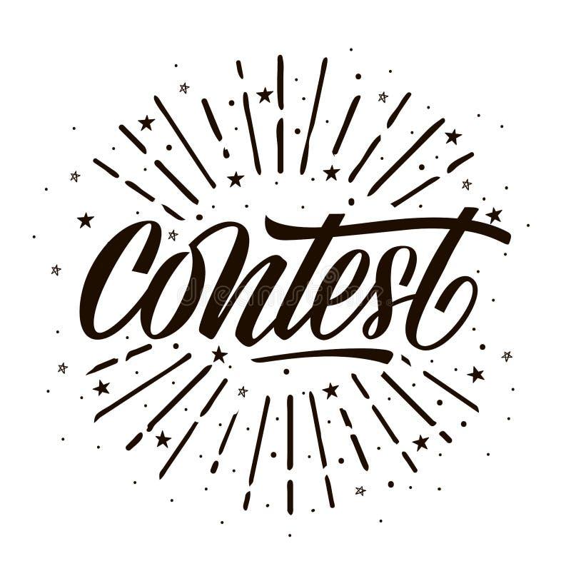 Carta di concorso royalty illustrazione gratis
