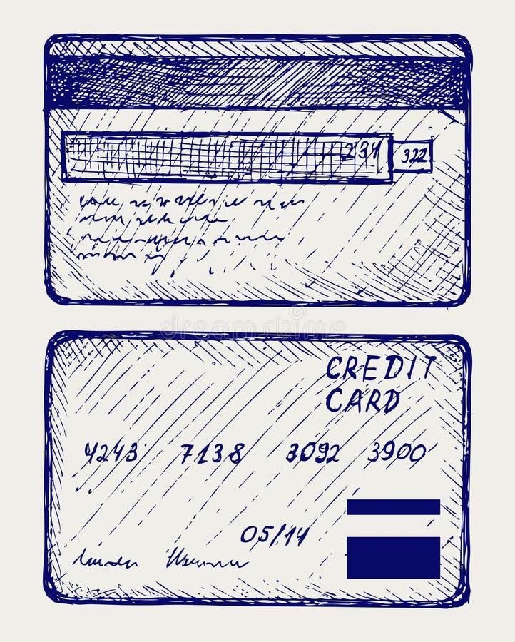 Carta di credito royalty illustrazione gratis