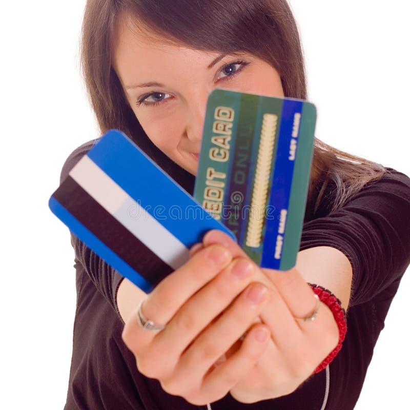 Carta di credito fotografia stock libera da diritti