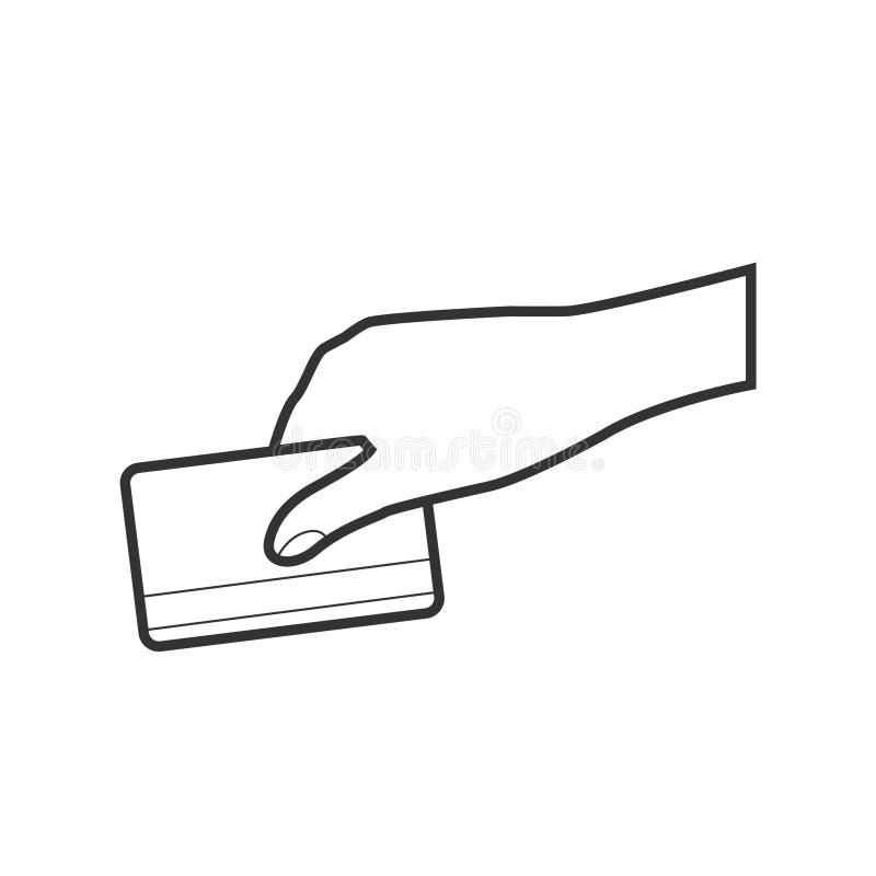 Carta di credito illustrazione di stock