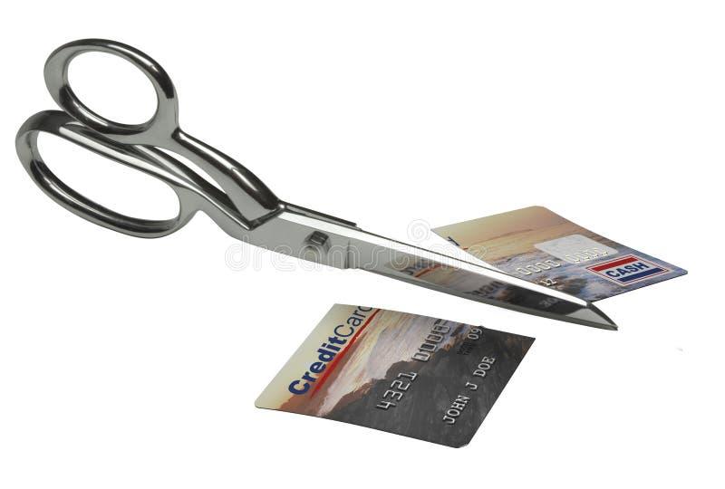 Carta di credito Dispoal immagine stock libera da diritti