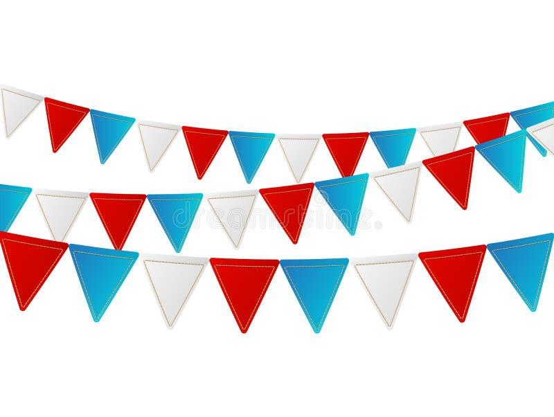 Carta di festa dell'indipendenza illustrazione di stock