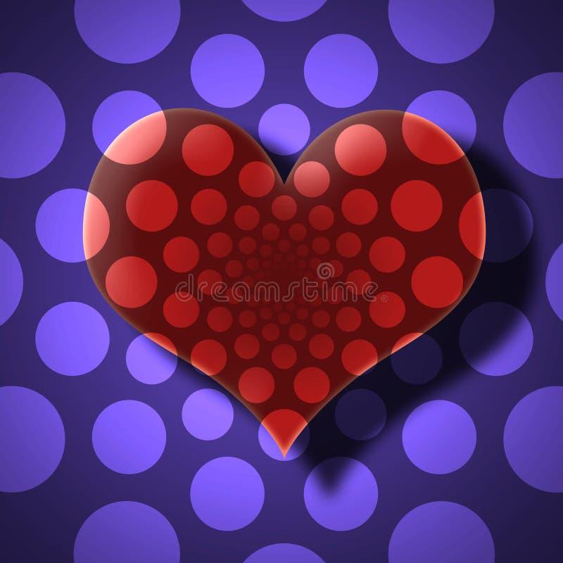Carta di giorno di biglietti di S. Valentino fotografia stock libera da diritti