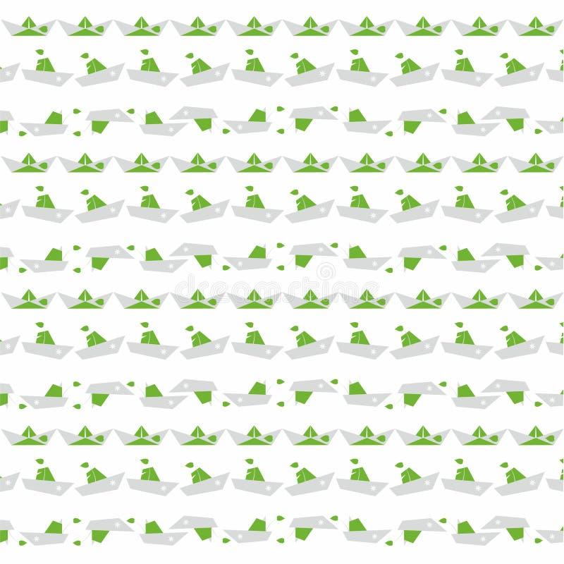 Carta di nautilus su bianco fotografie stock