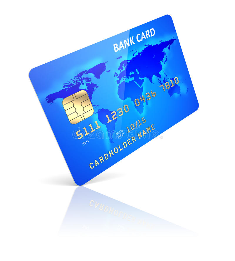 Carta di credito illustrazione vettoriale
