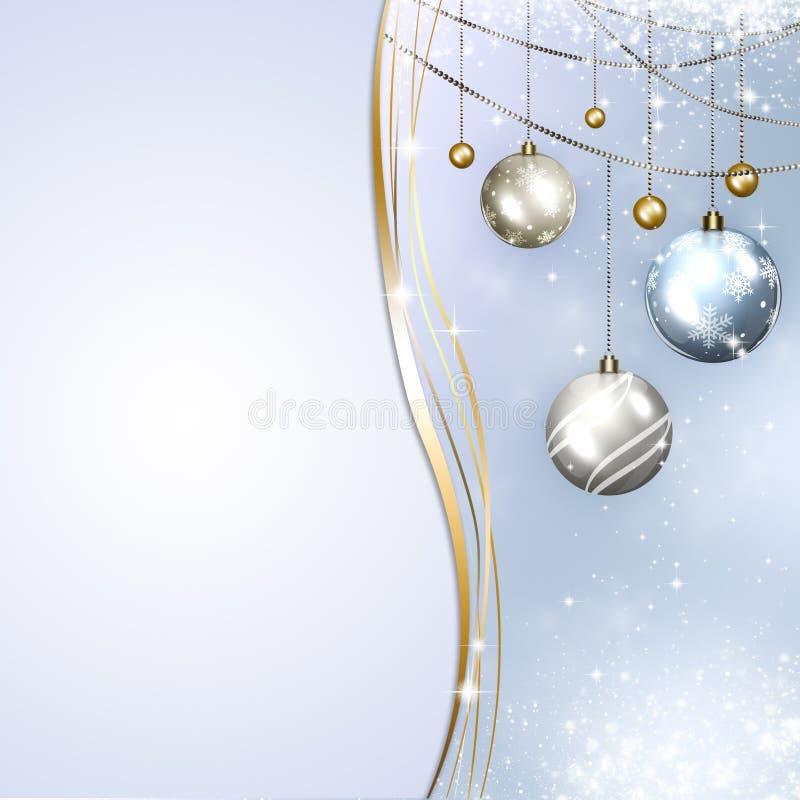 Carta di regalo di vacanze invernali royalty illustrazione gratis