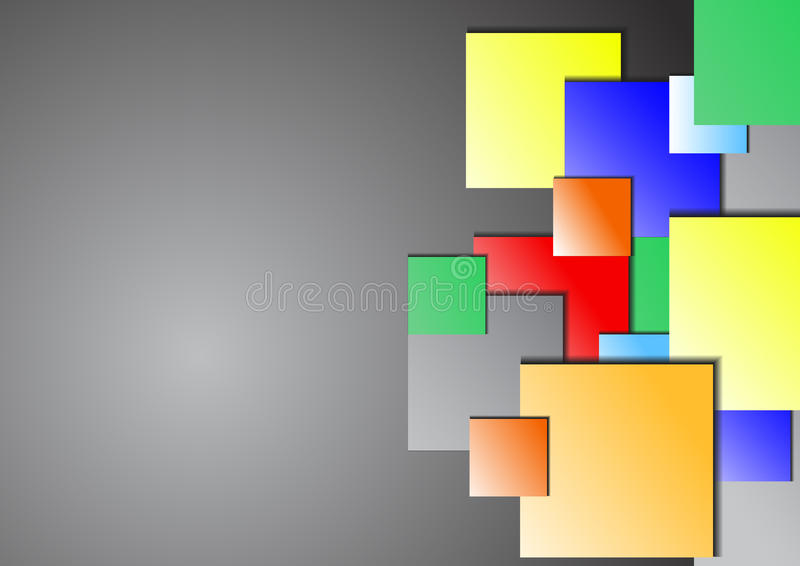 Download Carta Di Sovrapposizione Su Fondo Grigio Illustrazione di Stock - Illustrazione di comunicazione, ufficio: 56880478