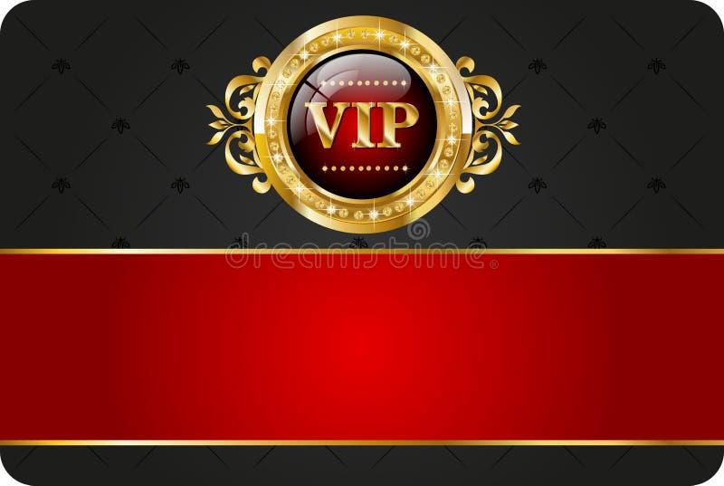 Carta di VIP royalty illustrazione gratis