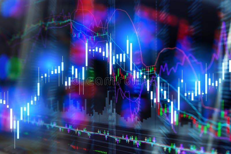 Carta do gráfico da vara da vela jpg fotografia de stock royalty free
