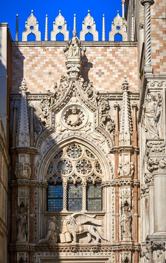 Carta Gate Porta della Carta Piazza San Marco Venice Italy. Piazza San Marco Venice Italy Carta Gate Porta, della CartaPiazza San Marco,Venice, building,Doge`s stock photography