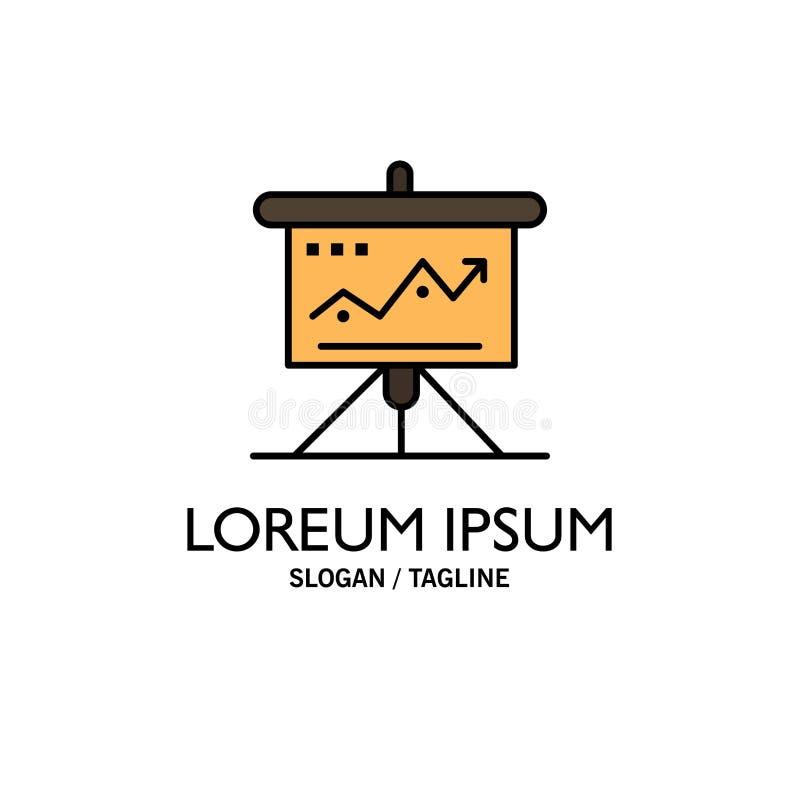 Carta, negocio, desafío, márketing, solución, éxito, negocio Logo Template de las táctica color plano stock de ilustración