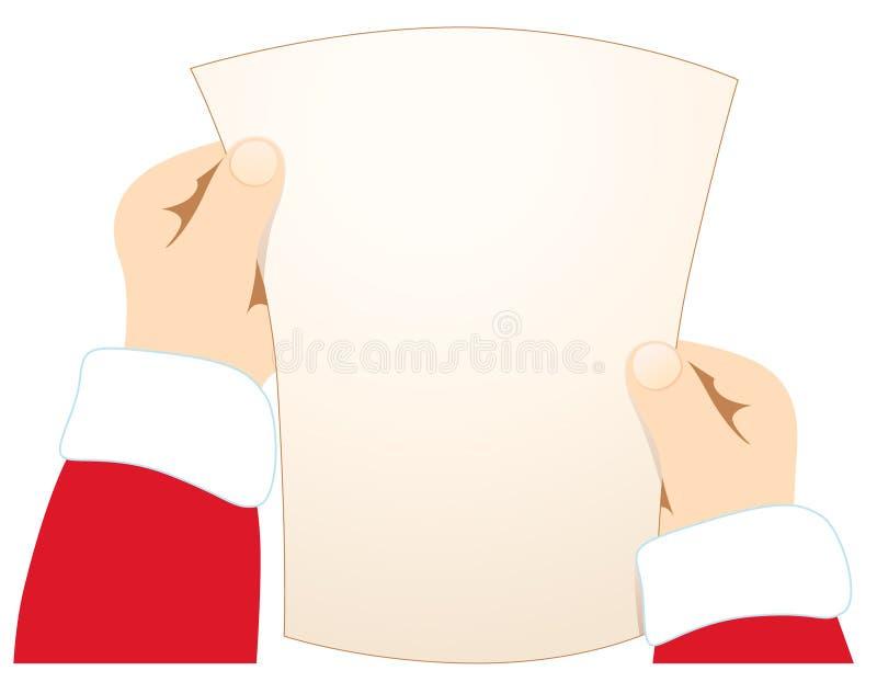 Carta para santa libre illustration