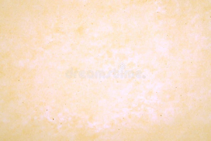 Carta pergamena gialla fotografie stock libere da diritti
