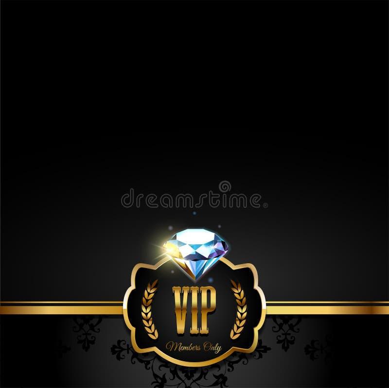 Carta premio di VIP royalty illustrazione gratis