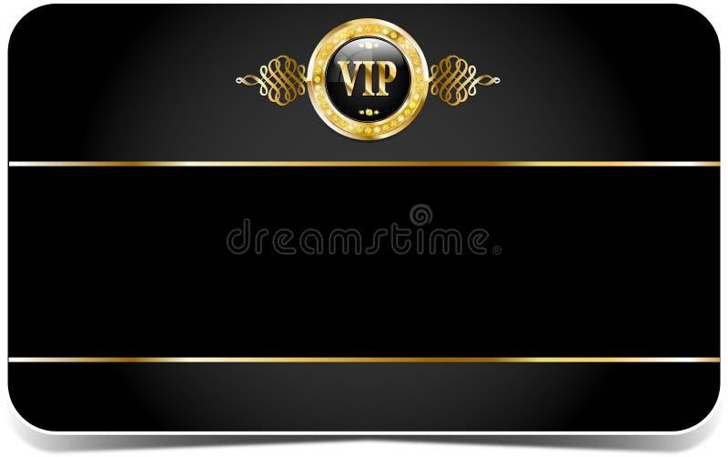 Carta premio di VIP illustrazione vettoriale