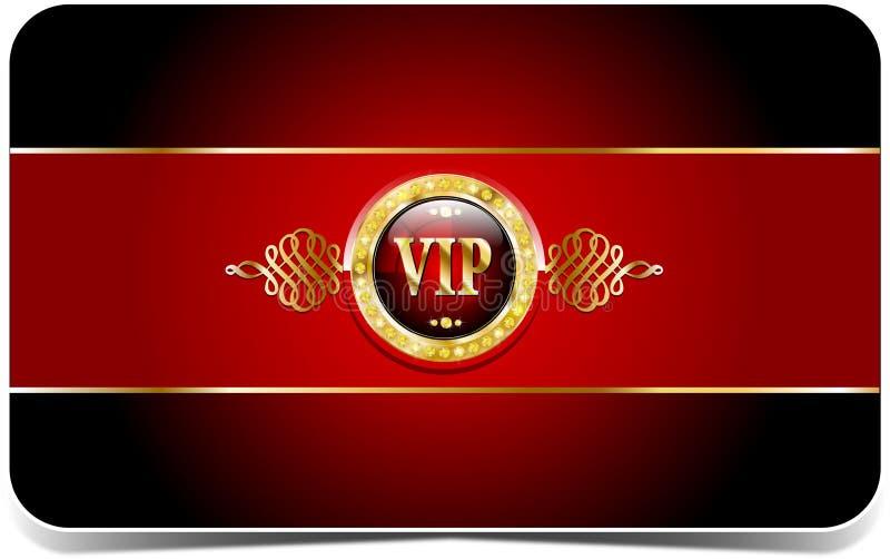 Carta premio di VIP illustrazione di stock
