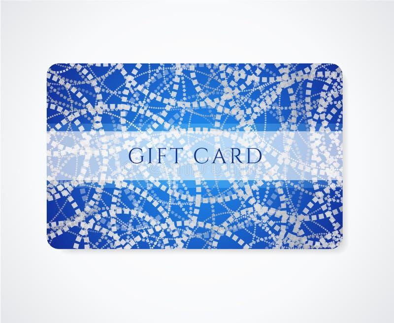 Carta regalo/del biglietto da visita/modello carta di sconto illustrazione vettoriale
