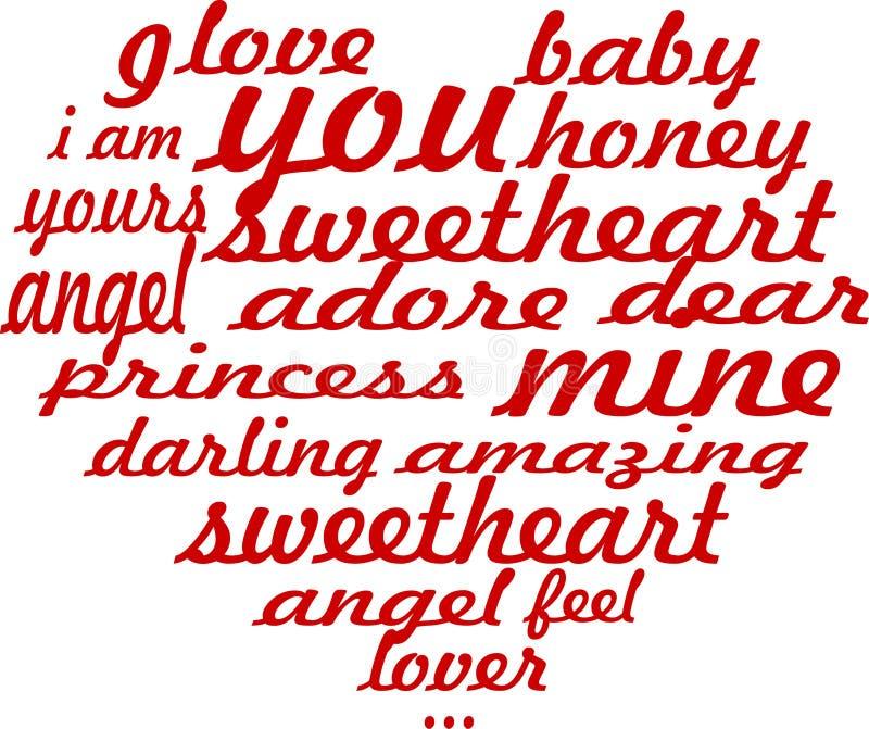 Carta romantica del cuore fotografie stock libere da diritti
