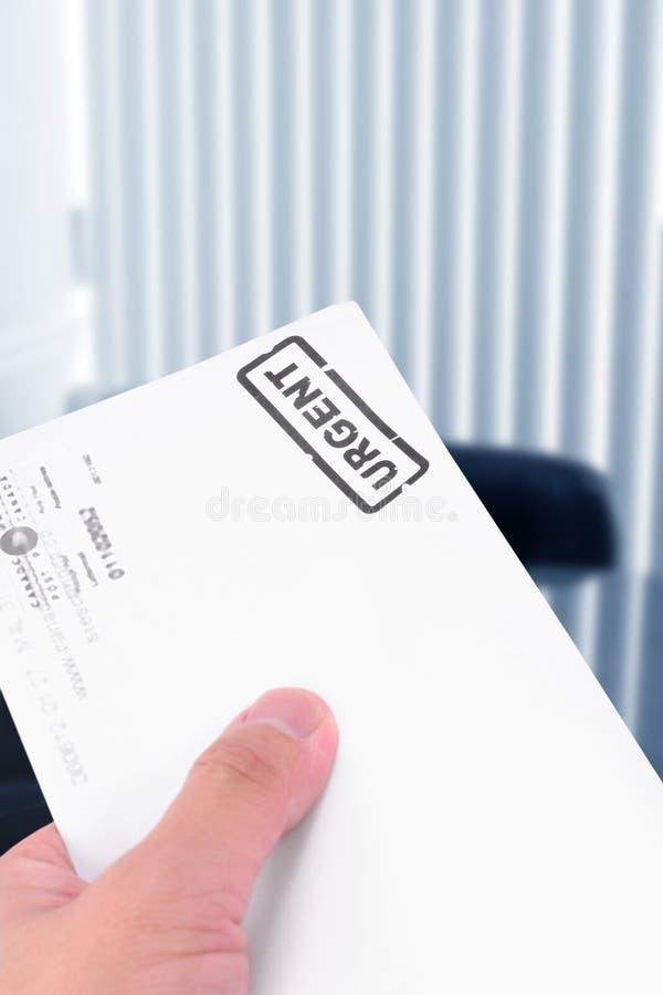 Download Carta urgente foto de archivo. Imagen de sobres, cuentas - 1288084