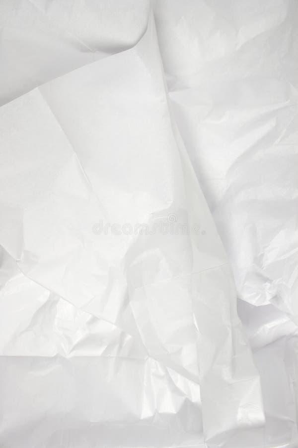 Carta velina bianca immagini stock