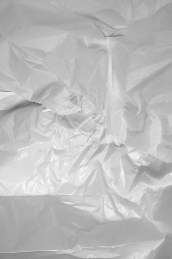 Carta velina bianca fotografie stock libere da diritti