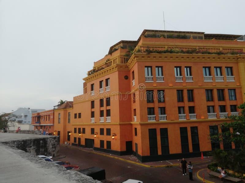Cartagena, Колумбия Историческое место стоковое фото rf