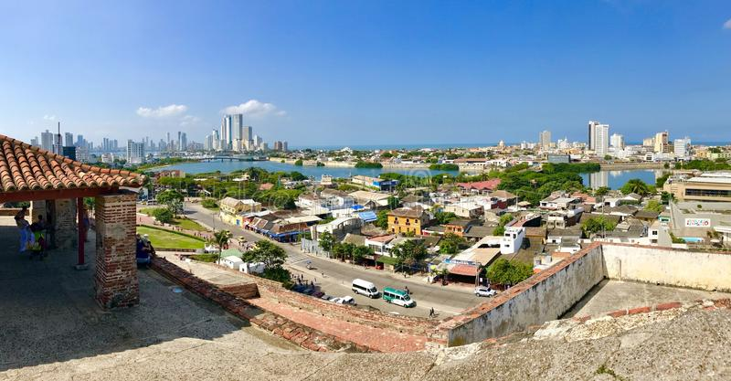 Cartagena royalty-vrije stock fotografie