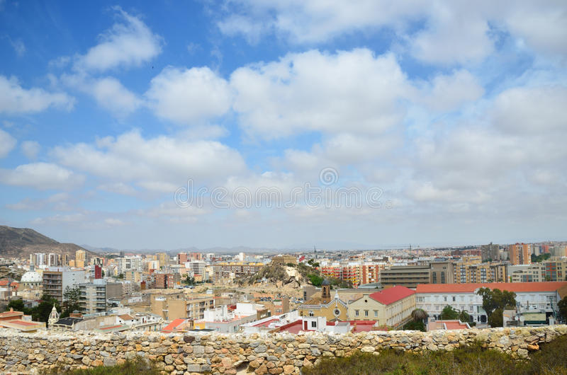 Download Cartagena from above stock image. Image of seaside, seashore - 25777543
