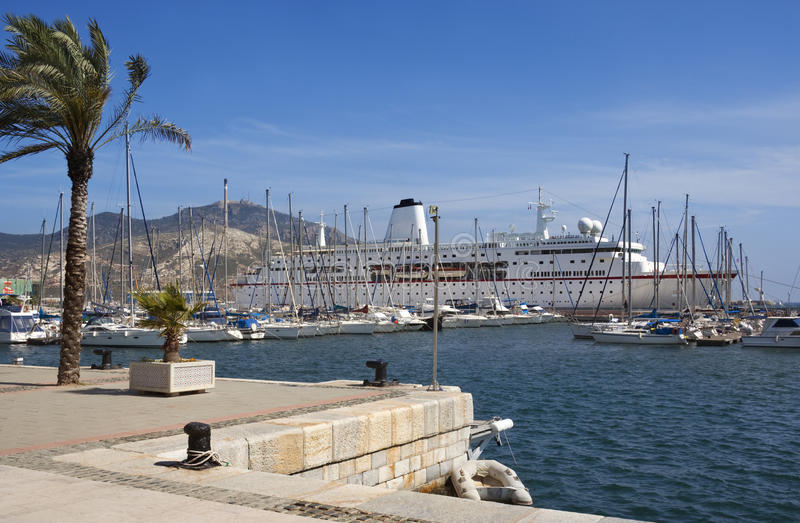 Cartagena - BLANCA da costela - Spain fotos de stock
