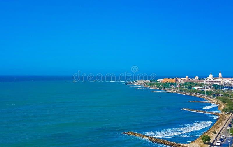 Cartagena, a cidade fantástica! imagem de stock royalty free