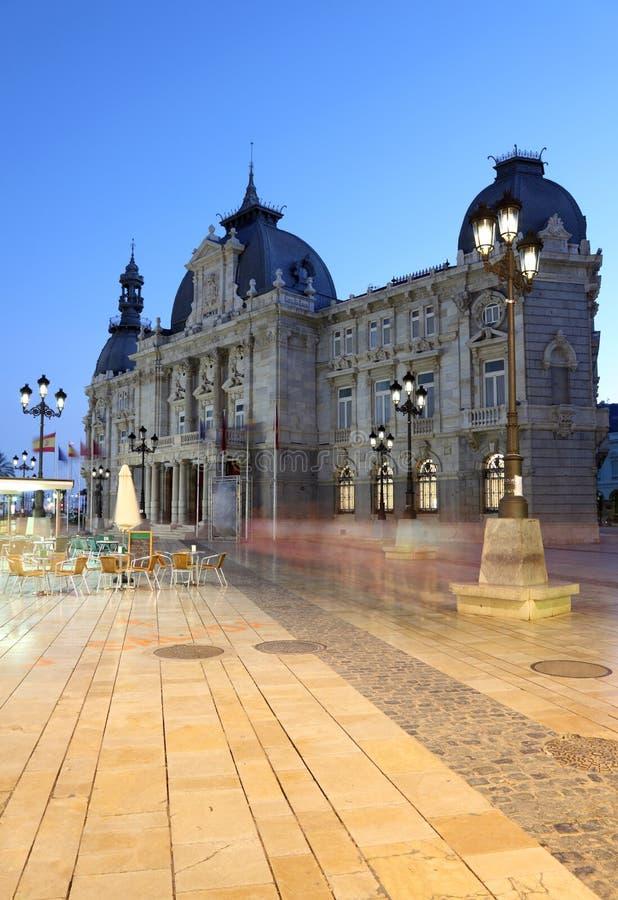 Download Cartagena City hall, Spain stock image. Image of landmark - 27159923