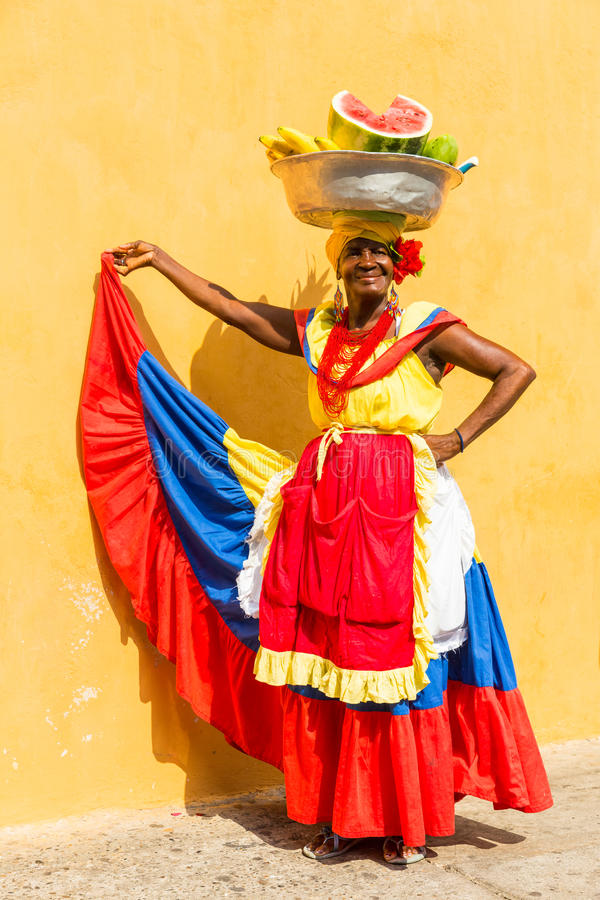 Cartagena, Colombia royalty-vrije stock foto