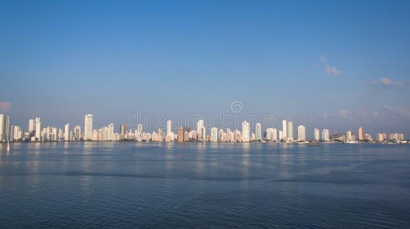 Cartagena Colombia fotografering för bildbyråer