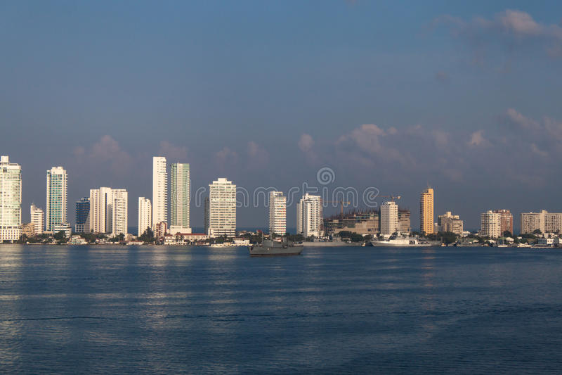 Cartagena Colombia royaltyfri foto
