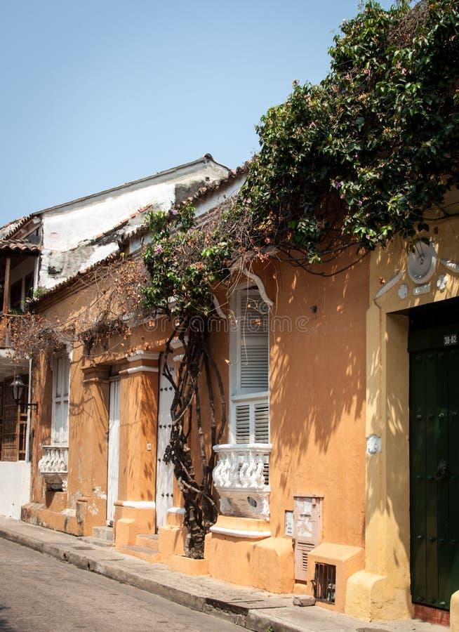 Cartagena Colombia Zuid-Amerika royalty-vrije stock afbeelding