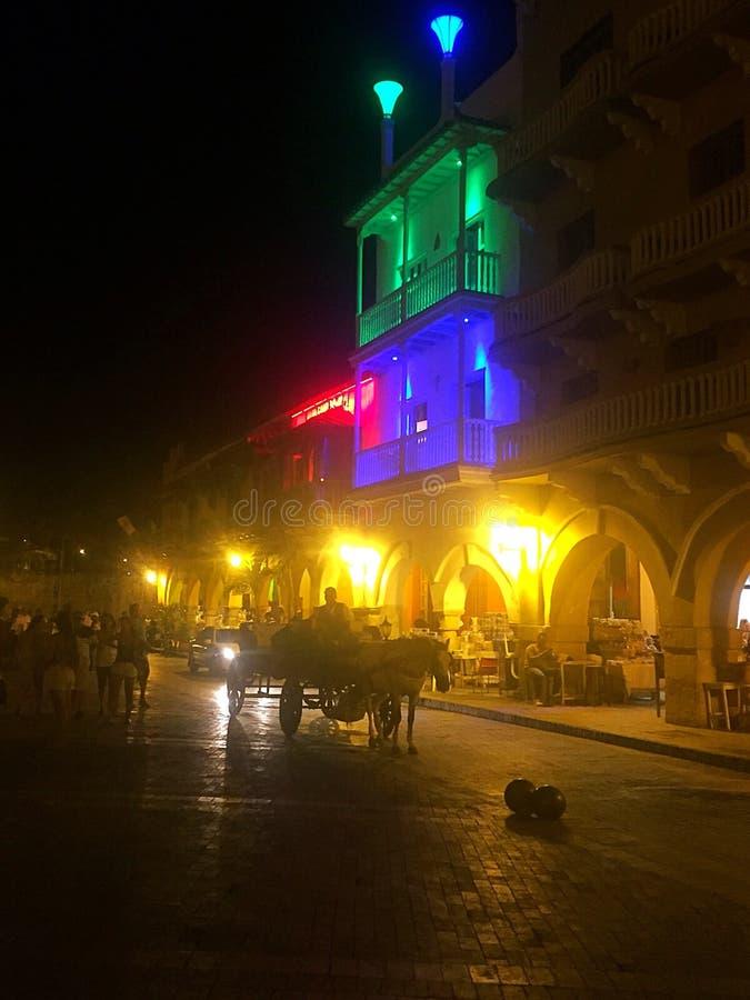 Cartagena Columbia imagen de archivo libre de regalías