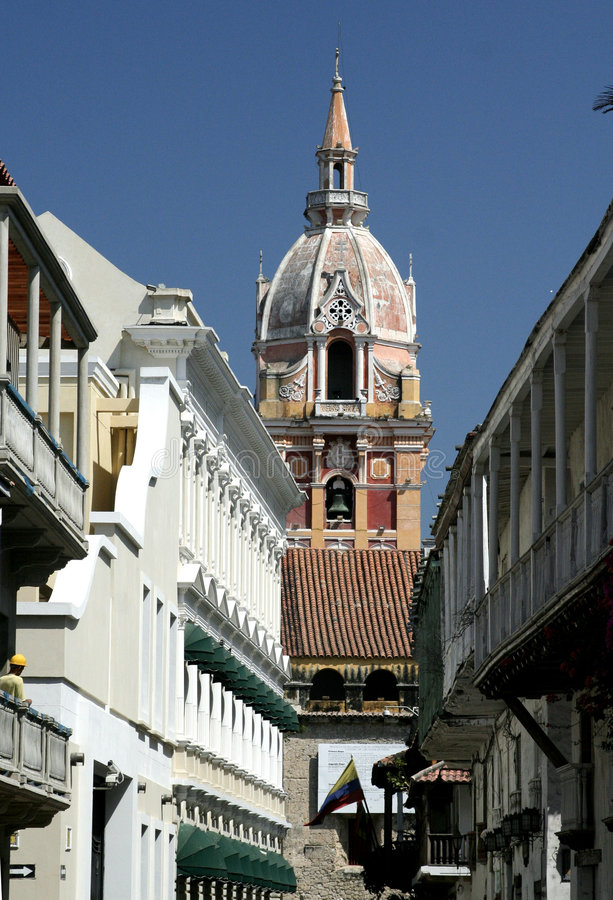 Free Cartagena De Indias Architecture. Colombia Stock Images - 655084