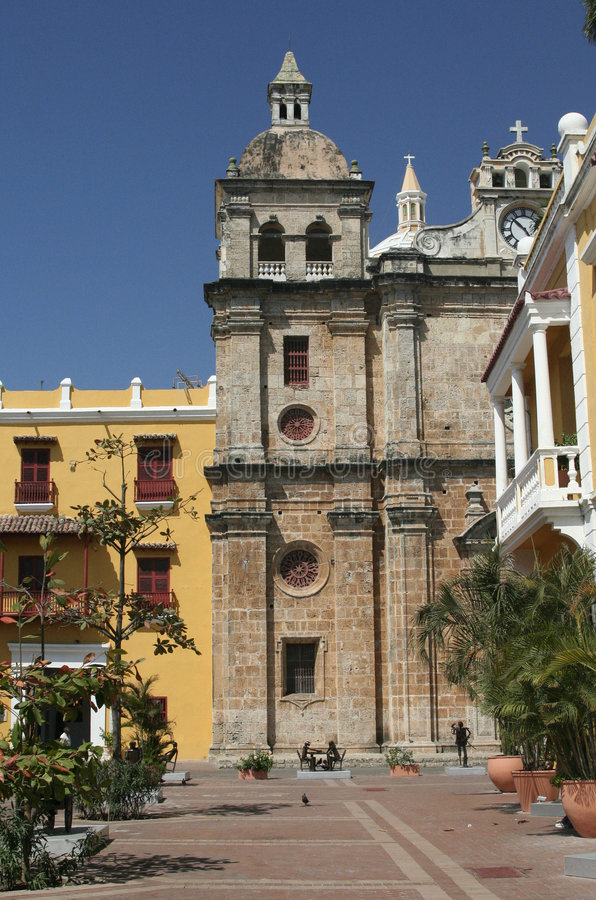 Free Cartagena De Indias Architecture. Colombia Stock Photos - 655133