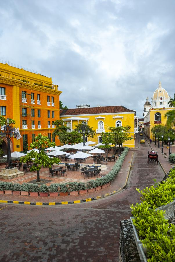 Cartagena de Indias, Col?mbia imagens de stock royalty free
