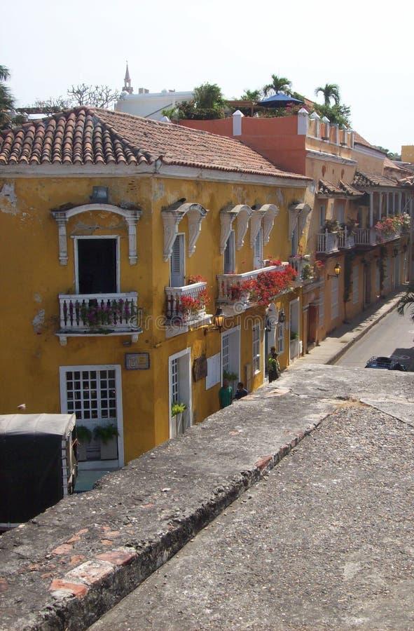 Cartagena do centro imagem de stock