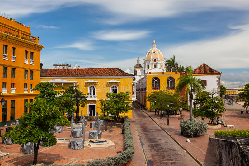 Cartagena, Kolumbia obrazy stock