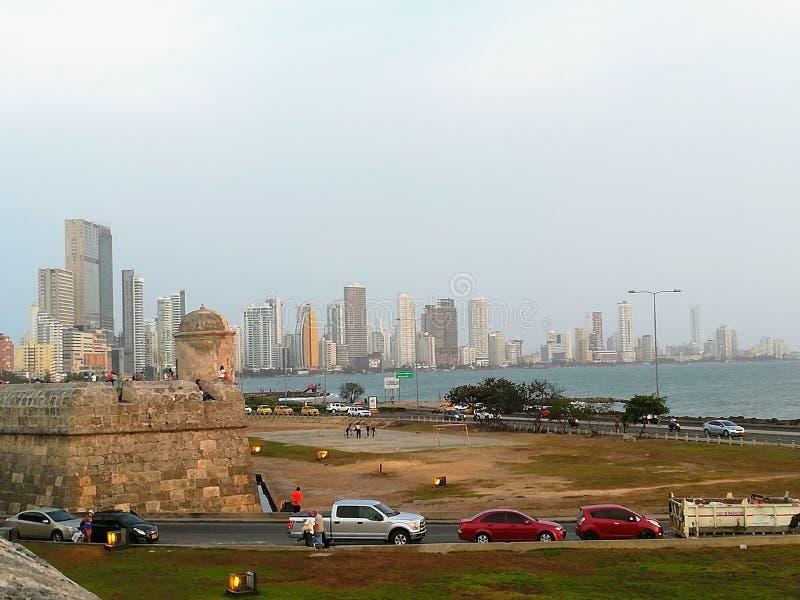 Cartagena Kolumbia zdjęcia stock