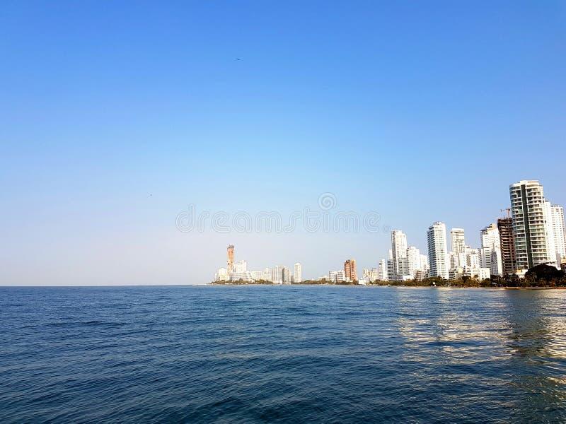 Cartagena - Kolumbien lizenzfreie stockbilder