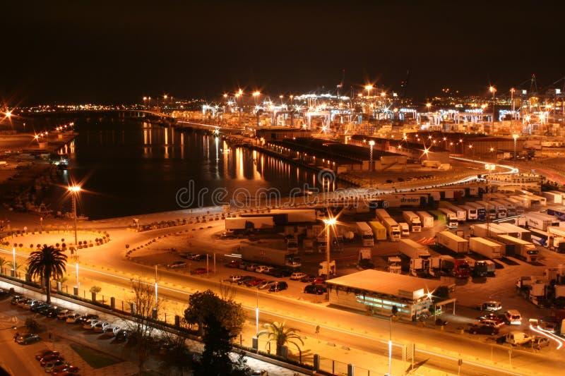 Cartagena at night royalty free stock photography