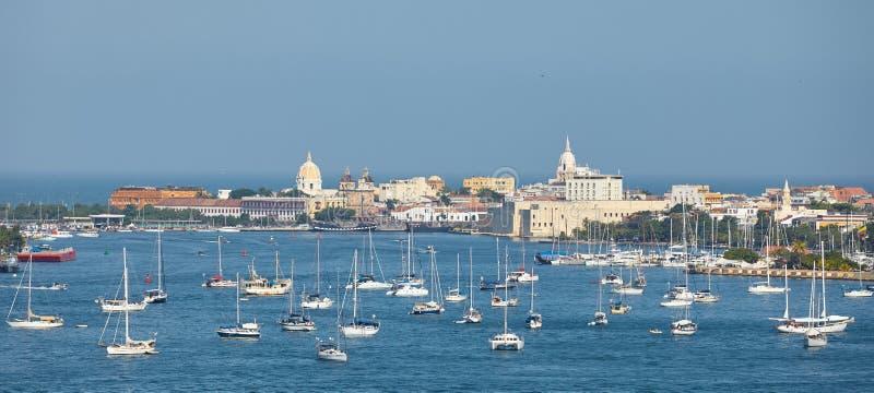 Cartagena stad arkivbild