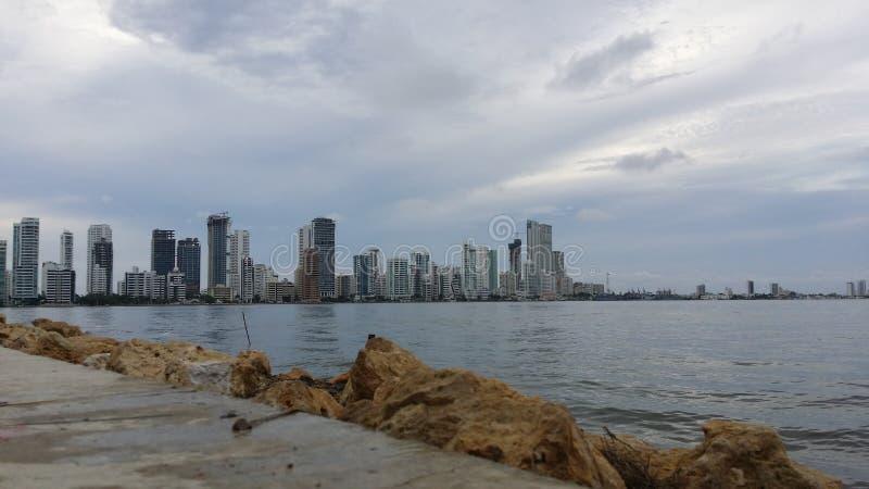 Cartagena-Stadt, Kolumbien stockfotografie